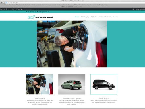 Website ACT Gelderland
